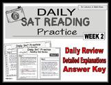 Daily SAT Reading Practice Week 2