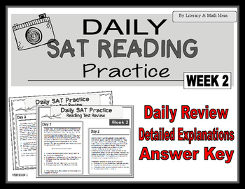 Daily SAT Reading Practice Week 2