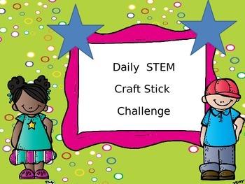 Daily STEM challenge