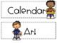 Daily Schedule Cards FREEBIE