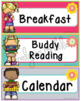 Daily Schedule Cards - Editable
