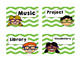 Daily Schedule Cards Kid Theme