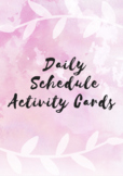 Daily Schedule Cards & Labels