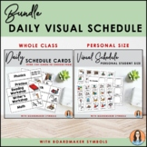 Daily Schedule Cards & Visual Schedule - Boardmaker Bundle