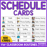 Daily Schedule Cards for Visual Schedules
