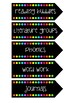 Daily Schedule Cards - Rainbow Flags