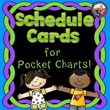 Daily Schedule Cards! Sentence Form!