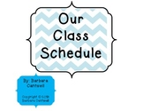 Daily Schedule Cards for Any Classroom