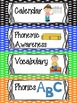 Daily Schedule Cards for Primary Grades!  Fun and Colorful Cards with Clipart!