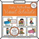 Daily Schedule Cards for Visual Schedule - HOME - large size