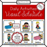 Daily Schedule Cards for Visual Schedule - HOME - small size