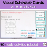 Daily Schedule Cards with Pictures