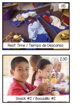 Daily Schedule Cards_ Bilingual