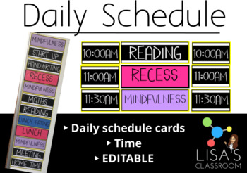 Daily Schedule Display