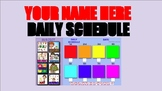Daily Schedule - Easy Drag & Drop Daily Schedule for Googl