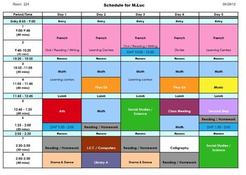 daily schedule editable excel file by mr luke teachers pay teachers