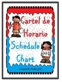 Daily Schedule: Horario Diario for the Intermediate dual classroom