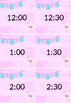 Daily Schedule Llama Themed