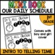Daily Schedule Mini Book