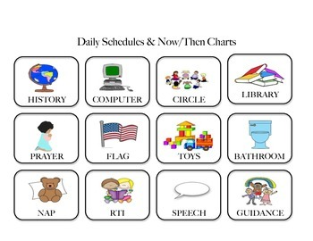 Daily Schedule & Now/Then Charts