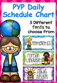 Daily Schedule PYP