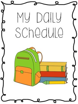 Daily Schedule Pages