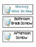 Daily Schedule Picture Cards