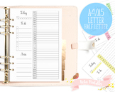 Daily Schedule Printable Planner Insert
