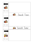 Daily Schedule - Table Level