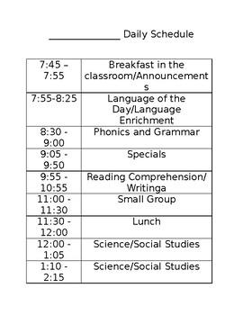 Microsoft Word Daily Schedule Template from ecdn.teacherspayteachers.com