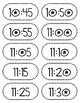 Daily Schedule Time Cards