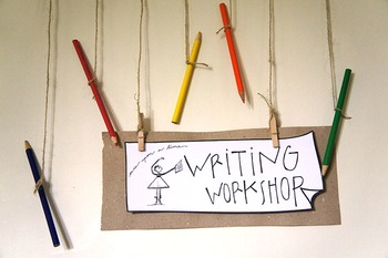 "Daily Schedule Title Card ""Writing Workshop"""