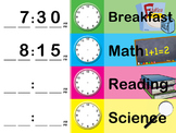 Daily Schedule (editable)