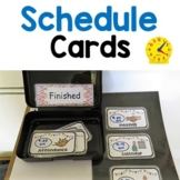 Daily Schedule visual Cards