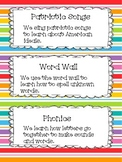 Daily Schedule with Justification in Student Language