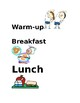 Daily Schedule with pictures