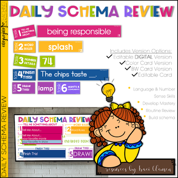 Daily Schema Review - Concept Review - EDITABLE