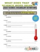 Daily Science #81: Heat Stroke vs. Heat Exhaustion (diagram / questions / key)