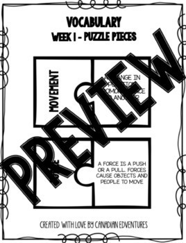 Daily Science Centers BUNDLE! Force and Motion - Grade 2!