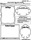 Daily Science Lesson Notes Template