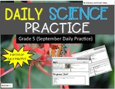 Daily Science Practice (Grade 5:  September Full Month)