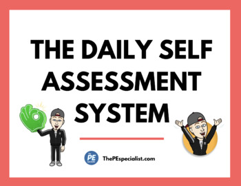 Daily Self Assessment For Physical Education |Related Areas|