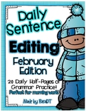 Daily Sentence Editing {January Edition}