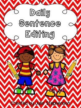 Daily Sentence/Paragraph Editing- Set 1