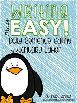 Daily Sentence Editing for January