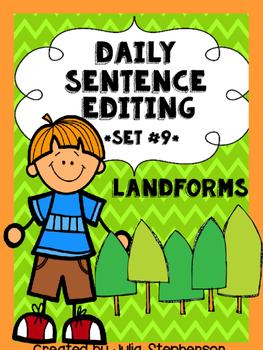 Daily Sentence/Paragraph Editing- Set 9