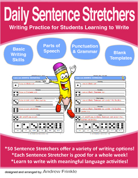 Daily Sentence Stretchers  - Creative Writing Resource for