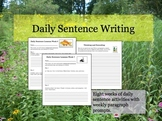 Daily Sentence Writing: Part 1
