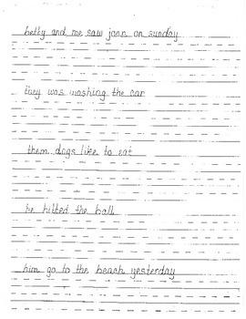 Daily Sentences (DOL)