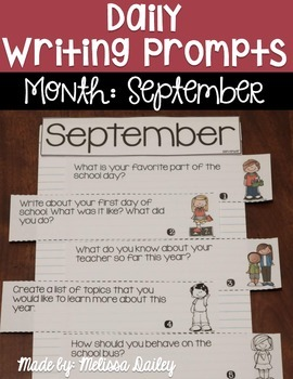 Daily Writing Prompts {September}